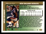 1997 Topps #275  Willie McGinest  Back Thumbnail