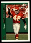 1997 Topps #357  Brian Washington  Front Thumbnail