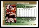 1997 Topps #271  Bill Romanowski  Back Thumbnail