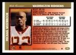 1997 Topps #286  Michael Westbrook  Back Thumbnail