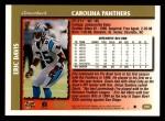 1997 Topps #242  Eric Davis  Back Thumbnail