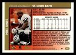 1997 Topps #283  Mike Jones  Back Thumbnail