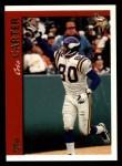 1997 Topps #240  Cris Carter  Front Thumbnail