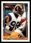 1992 Topps #697  Mark Boutte  Front Thumbnail