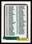 1992 Topps #759   Checklist 661-759 Front Thumbnail