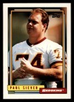 1992 Topps #706  Paul Siever  Front Thumbnail
