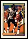 1992 Topps #674  Junior Seau  Front Thumbnail