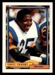 1992 Topps #725  Chris Crooms  Front Thumbnail