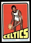 1972 Topps #74  Satch Sanders  Front Thumbnail