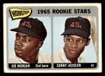 1965 Topps #16   -  Joe Morgan / Sonny Jackson Houston Rookies Front Thumbnail