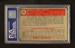 1952 Topps #346  George Spencer  Back Thumbnail