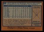 1978 Topps #694  Elias Sosa  Back Thumbnail