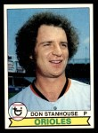1979 Topps #119  Don Stanhouse  Front Thumbnail