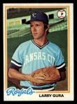 1978 Topps #441  Larry Gura  Front Thumbnail