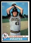 1979 Topps #264  Don Robinson  Front Thumbnail