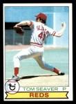 1979 Topps #100  Tom Seaver  Front Thumbnail