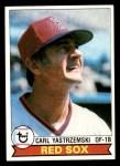 1979 Topps #320  Carl Yastrzemski  Front Thumbnail