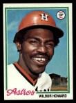 1978 Topps #534  Wilbur Howard  Front Thumbnail