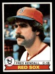 1979 Topps #83  Fred Kendall  Front Thumbnail