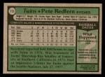 1979 Topps #113  Pete Redfern  Back Thumbnail