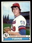 1979 Topps #81  Roger Erickson  Front Thumbnail