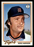 1978 Topps #536  Roric Harrison  Front Thumbnail