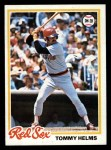 1978 Topps #618  Tommy Helms  Front Thumbnail