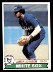 1979 Topps #372  Lamar Johnson  Front Thumbnail