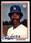 1978 Topps #546  Ted Martinez  Front Thumbnail