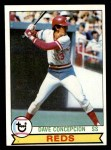 1979 Topps #450  Dave Concepcion  Front Thumbnail