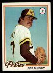 1978 Topps #266  Bob Shirley  Front Thumbnail