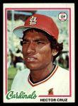 1978 Topps #257  Hector Cruz  Front Thumbnail