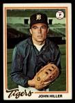 1978 Topps #258  John Hiller  Front Thumbnail