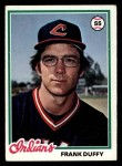 1978 Topps #511  Frank Duffy  Front Thumbnail