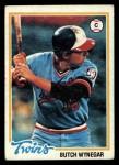 1978 Topps #555  Butch Wynegar  Front Thumbnail