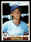 1979 Topps #26  Jamie Quirk  Front Thumbnail
