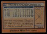 1978 Topps #445  Mike Ivie  Back Thumbnail