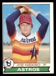 1979 Topps #68  Joe Niekro  Front Thumbnail