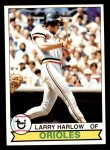 1979 Topps #314  Larry Harlow  Front Thumbnail