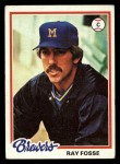 1978 Topps #415  Ray Fosse  Front Thumbnail