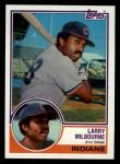 1983 Topps #91  Larry Milbourne  Front Thumbnail