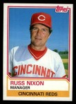 1983 Topps #756  Russ Nixon  Front Thumbnail