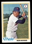 1978 Topps #653  Ron Hodges  Front Thumbnail