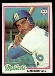 1978 Topps #698  Juan Bernhardt  Front Thumbnail