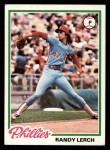 1978 Topps #271  Randy Lerch  Front Thumbnail