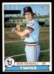 1979 Topps #58  Bob Randall  Front Thumbnail