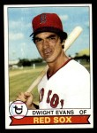 1979 Topps #155  Dwight Evans  Front Thumbnail