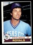 1979 Topps #502  Steve Braun  Front Thumbnail