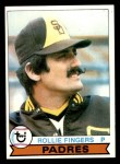 1979 Topps #390  Rollie Fingers  Front Thumbnail