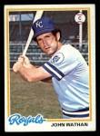 1978 Topps #343  John Wathan  Front Thumbnail